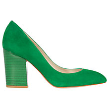Buy Karen Millen Almond Toe Block Heeled Court Shoes Online at johnlewis.com