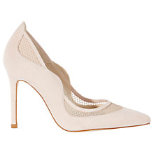Buy Karen Millen Suede and Mesh Court Shoes Online at johnlewis.com