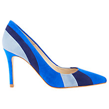 Buy Karen Millen Stripe Pointed Toe Court Shoes Online at johnlewis.com