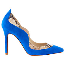 Buy Karen Millen Suede and Snake Court Shoes Online at johnlewis.com