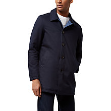 Buy Jaeger Reversible Mac, Navy Online at johnlewis.com