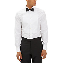 Buy Jaeger Marcella Bib Slim Fit Dress Shirt, White Online at johnlewis.com