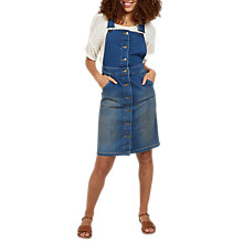 Buy Fat Face Rowena Denim Dress, Denim Online at johnlewis.com