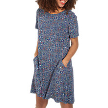 Buy Fat Face Simone Dress, Indigo Online at johnlewis.com