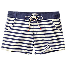 Buy Fat Face Breton Stripe Board Shorts, Navy Online at johnlewis.com