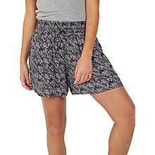 Buy Fat Face Tribal Print Flippy Shorts, Phantom Online at johnlewis.com