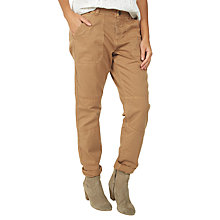 Buy Fat Face Seamed Worker Trousers Online at johnlewis.com