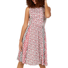 Buy Fat Face Karen Patchwork Dress, Ivory Online at johnlewis.com