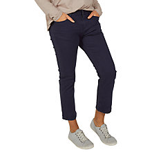 Buy Fat Face Garment Dye Cropped Jeans Online at johnlewis.com