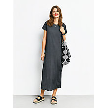 Buy hush Jacinta T-Shirt Dress, Charcoal Online at johnlewis.com