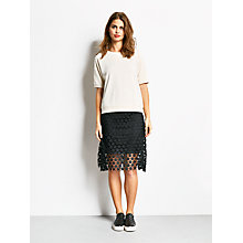 Buy hush A-Line Star Skirt, Black Online at johnlewis.com