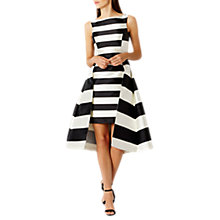 Buy Coast Kady Stripe Midi Dress, Mono Online at johnlewis.com