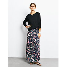 Buy hush Printed Maxi Skirt, Botanical Print Online at johnlewis.com