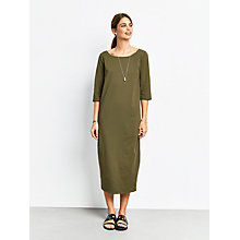 Buy hush Solana Dress, Olive Online at johnlewis.com