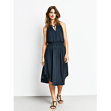 Buy hush Cerys Shirred Dress, Salute Online at johnlewis.com