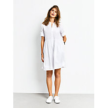 Buy hush Camellia Dress, White Online at johnlewis.com