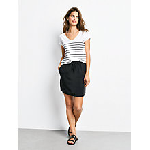 Buy hush Striped V-Neck T-Shirt Online at johnlewis.com