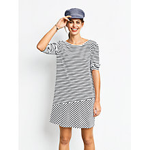 Buy hush Kate Dress, White/Black Online at johnlewis.com