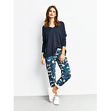 Buy hush Camo Printed Joggers, Blue Mix Online at johnlewis.com