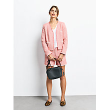 Buy hush Tweed Shorts, Pink Online at johnlewis.com