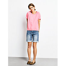 Buy hush Sloppy Joe Top, Neon Pink Online at johnlewis.com