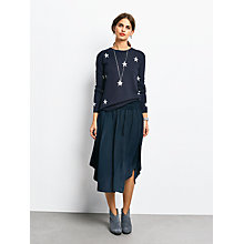 Buy hush Cerys Shirred Skirt, Black Online at johnlewis.com