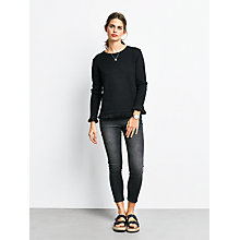 Buy hush Holly Cropped Jeans, Grey Online at johnlewis.com