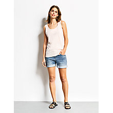 Buy hush Slouchy Vest, Blush Online at johnlewis.com