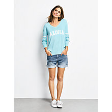 Buy hush Denim Shorts, Blue Online at johnlewis.com