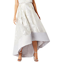 Buy Coast Flower Rhian Skirt, Silver Online at johnlewis.com