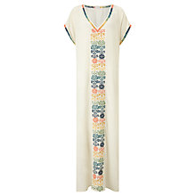 Buy Star Mela Kirsi Long Dress, Ecru/Light Multi Online at johnlewis.com