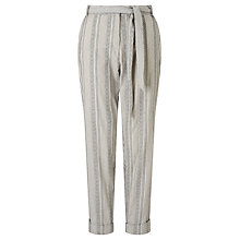 Buy People Tree Georgina Trousers, Multi Online at johnlewis.com