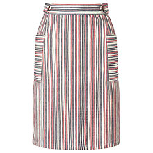 Buy People Tree Beatrice Pocket Skirt, Multi Online at johnlewis.com