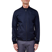 Buy Ted Baker T for Tall Apolott Mouline Bomber Jacket, Navy Online at johnlewis.com