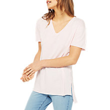 Buy Miss Selfridge Longline Tunic T-Shirt Online at johnlewis.com
