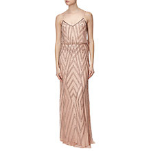 Buy Adrianna Papell Sleeveless Blouson Gown Online at johnlewis.com