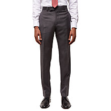 Buy Jaeger Super 120s Wool Regular Fit Suit Trousers, Grey Online at johnlewis.com