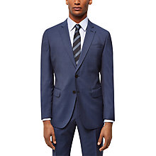 Buy Jaeger Wool Hammerhead Regular Fit Suit Jacket, Chambray Online at johnlewis.com