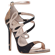 Buy KG by Kurt Geiger Hex Multi Strap Stiletto Sandals, Multi Online at johnlewis.com