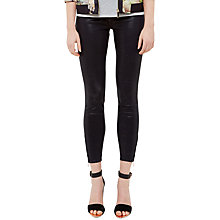 Buy Ted Baker Delfiny Glittery Denim Jeans, Dark Blue Online at johnlewis.com