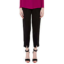 Buy Ted Baker Cheray Split Hem Posh Jogger Trousers, Black Online at johnlewis.com