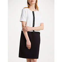 Buy Winser London Detachable Collar Dress, Black Online at johnlewis.com