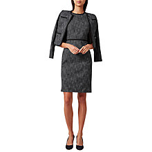 Buy Hobbs Natalie Jacket, Navy/Multi Online at johnlewis.com