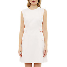 Buy Ted Baker Meline Side Bow Detail Shift Dress, Baby Pink Online at johnlewis.com