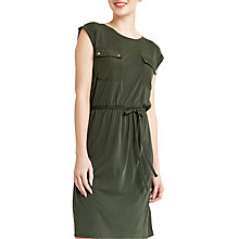 Buy Oasis Utility Dress, Khaki Online at johnlewis.com