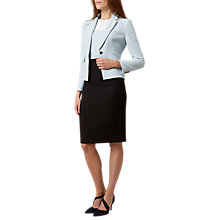 Buy Hobbs Maya Jacket, Ice Blue Online at johnlewis.com