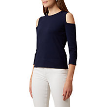Buy Hobbs Catrina Jumper, French Navy Online at johnlewis.com