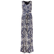 Buy Phase Eight Jordan Printed Jumpsuit, Navy/Ivory Online at johnlewis.com