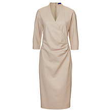 Buy Winser London Cotton Twill Miracle Dress, Stone Online at johnlewis.com