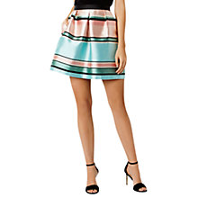 Buy Coast Bayshore Stripe Skirt, Mint Online at johnlewis.com